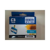 Cartucho C3 Tech Compatível Epson Mod Np-r-1052 Ciano