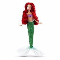 Boneca Princesa Ariel Original Disney 28cms De Altura