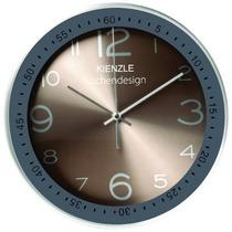 Relógio Parede Nature Cozinha Bronze Silencioso 30cm Kienzle