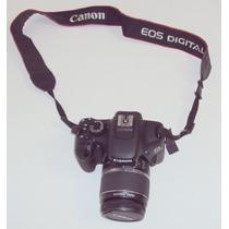 Maquina Fotográfica Canon Eds 550d Semi Nova Com Kit E Bolsa