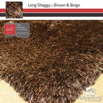 Tapete Long Shaggy, Fio De Seda 70mm, Importado, 2,00x3,00m