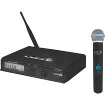 Microfone Sem Fio De Mão Lyco Uhxpro-01m