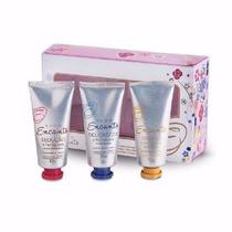 Kit Encanto Avon 3 Hidratantes Para Mãos 30g Cada