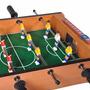 Mini Mesa De Futebol Pebolim Madeira Tóto 12 Jogadores +bola