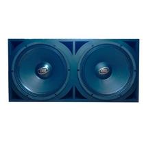 Caixa Trio Pancadão 2 Woofers Eros E-312 800w Rms Completa