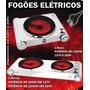 Cooktop Fogao Eletrico 220-volts 2-bocas Roa Aco Inox