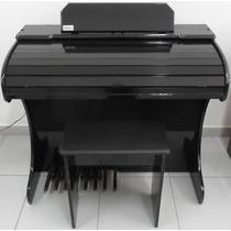 Órgão Eletronico Rohnes Onix Preto Brilho - Compre Na Jubi