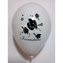 25 Balões/bexigas Estampa Formatura