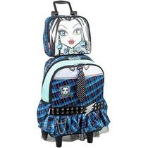 Kit Mochila Lancheira Monster High Escolar Infantil Promoção