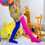 Meia Calça Colorida Infantil