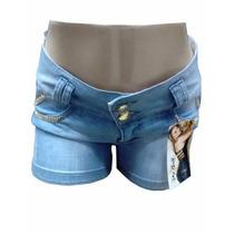 Shorts Jeans Pit Bull Claro Ptb066