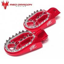 Pedaleira Alumínio Red Dragon Crf 230 2007/xr 250 Tornado