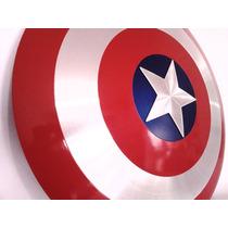 Escudo Do Capitão América De Alumínio