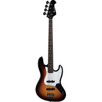 Ritmus Eagle Sjb005 Contra Baixo 4 Cordas Jazz Bass Sunburst