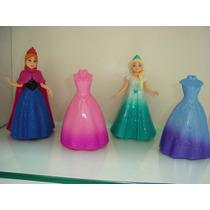 Boneca Frozen Princesa Anna E Elsa Magiclip Disney