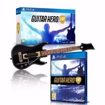 Jogo Guitar Hero Live Ps4 + Guitarra Lacrado Pré-venda