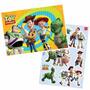 Kit Decorativo Com Painel Decoração Festa Toy Story +7 Peças