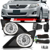 Kit Auxiliar Corolla 2011 2010 09 08 Aro Cromado Bt Original
