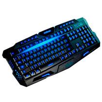 Teclado Gamer Luminoso Usb Para Jogos Com Fio Bk-g35 Black