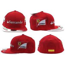 Boné Scuderia Ferrari Alonso Importado.