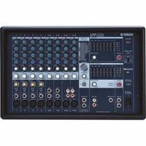 Mesa De Som Yamaha Amplificada De 1000w 12 Canais Emx512sc
