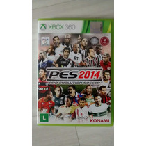 Jogo Pes 2014 Original Xbox 360