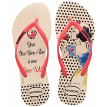 Chinelo Havaianas Slim Princesas Adulto Original - 1079