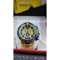Lindo Relógio Subaqua Noma V Dourado 15923 Promocional