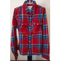 Camisa Masculina De Flanela Abercrombie & Fitch
