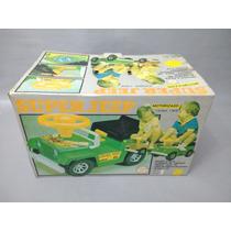 Brinquedo Antigo, Raro Jeep Brinquedos Rei Tipo Pedal Car