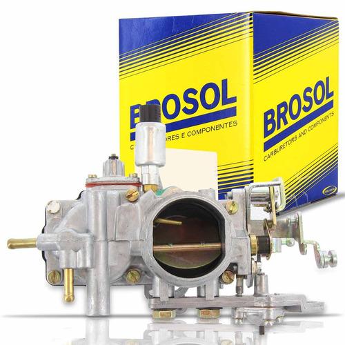 Carburação A Gasolina Completo Chevy 500 1.6 Brosol 1986 87