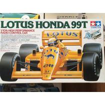 Tamiya 1/10 Rc Lotus 99t Senna F1 Kit Montar Radio Controle