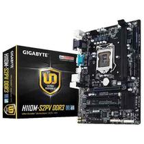 Placa Mae Lga1151 Intel Gigabyte Ga-h110m-s2pv Ddr3 1866mhz