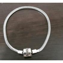 Pulseira Tipo Pandora Prata Legítima 925k