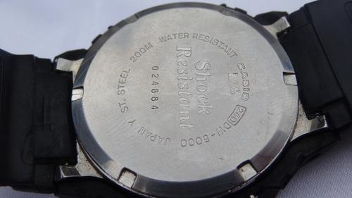 1858d974458 Relógio Casio G-shock D W 5000 Raríssimo Relogiodovovo R 1500 mMGqa ...