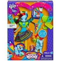 My Little Pony Equestria Girl Com Pônei Rainbow Dash -hasbro