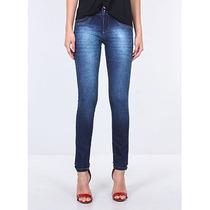 Calça Skinny Jeans Feminina Max Denim
