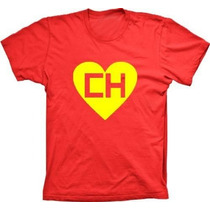 Camisetas Chapolin Colorado Super Heroi Camiseta Vermelha