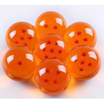 Esferas Do Dragão Kit C/ 7 Tamanho Real 7,5cm Sob Encomenda