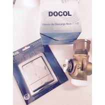 Válvula Descarga Docol / Base + Acabamento Square Quadrado