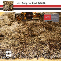 Tapete Long Shaggy, Fio De Seda 70mm, Importado, 2,00x2,50m