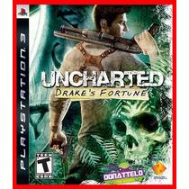 Uncharted 1 Ps3 Codigo Psn Drakes Fortune Legenda Pt Br