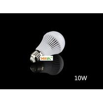 Kit 10 Lâmpadas Led Bulbo E27 10w Bivolt Luz Branco Frio