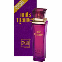 Perfume Nuits Mauves 100ml Paris Elysees - Nina Presentes