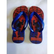 Chinelo Havaianas Personalizado - Spider Man - Homem Aranha