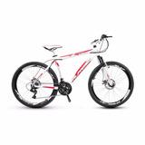 Bicicleta Alfameq Stroll Freio À Disco 21 Marchas Suspensão