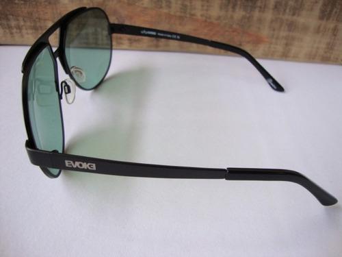 df60a64dd604f Óculos De Sol Evoke Havana Smoke Monel