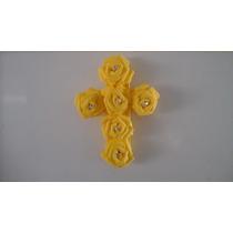 Lembrancinha - Crucifixo De Rosas Em Eva