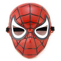 Mascara Do Homem Aranha, Homem De Ferro E Huck Com Luz.