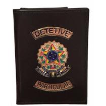 Carteira Porta Funcional Detetive Particular Republica